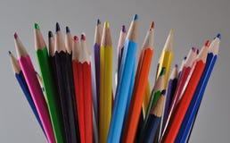 012 blyertspennor Royaltyfri Fotografi