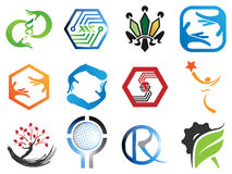 0132 Various Abstract Icons 6 Royalty Free Stock Image