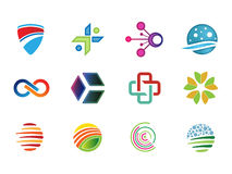 0134 Various Abstract Icons 8 Stock Photo