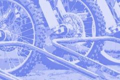 014抽象背景摩托车越野赛 库存照片