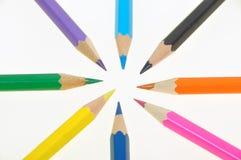 015 blyertspennor Royaltyfri Bild