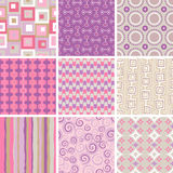 017_60s_patterns Stock Images