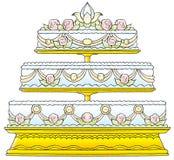 017 vårt bröllop Stock Illustrationer