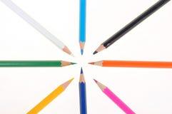 018支铅笔 免版税库存照片