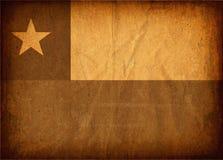 01Chilean vlag Royalty-vrije Stock Afbeeldingen