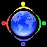 02个人s世界 免版税库存照片