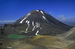 02个新的火山西兰 免版税库存图片