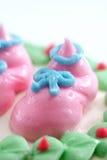 02个杯形蛋糕系列 库存照片