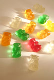 02个背景糖果gummi孩子 库存照片