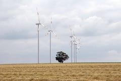 02个能源风 库存照片
