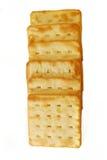 02个薄脆饼干 库存图片