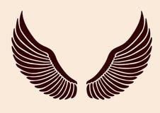 02个s翼 向量例证