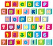02儿童字体滑稽的s 免版税库存图片