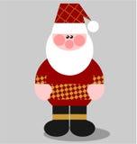 02克劳斯颜色圣诞老人 免版税库存图片