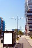 02公共汽车站躯干启用 免版税图库摄影