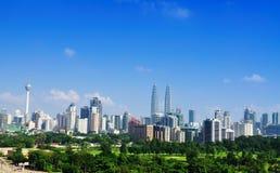 02吉隆坡地平线 库存照片