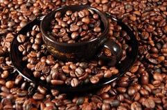 02咖啡时间 免版税库存照片