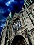 02哥特式的教会 库存图片