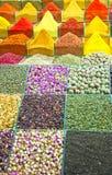 02埃及人伊斯坦布尔市场香料 库存照片