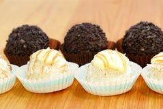 02巧克力甜点 免版税库存图片
