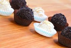02巧克力甜点 免版税图库摄影