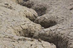 02干燥泥 图库摄影