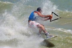 02极其wakeboarding 库存照片