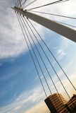 02桥梁丹佛 免版税库存照片