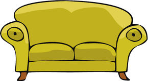 02沙发 免版税库存图片