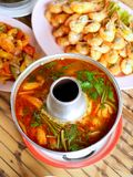 02泰国可口的食物 免版税图库摄影