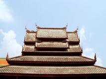 02泰国的屋顶 库存图片