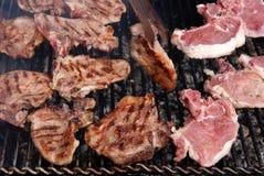 02烤肉 库存图片