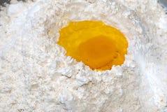 02烹调面粉 库存图片