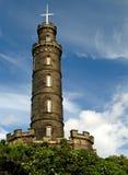 02爱丁堡纪念碑纳尔逊 免版税库存图片