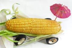 02玉米卡车 免版税库存照片