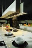 02现代的厨房 库存图片