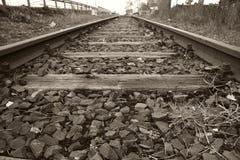 02铁路运输 免版税图库摄影