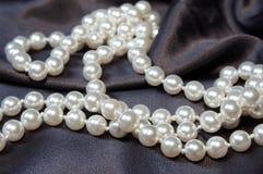 02颗珍珠 免版税库存照片