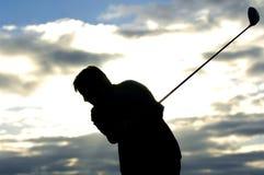 02高尔夫球日出 免版税库存图片