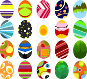 02 αυγά Πάσχας Στοκ φωτογραφία με δικαίωμα ελεύθερης χρήσης