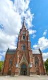 02 εκκλησία Lund Στοκ εικόνες με δικαίωμα ελεύθερης χρήσης