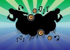 02 μουσικά θέματα ελεύθερη απεικόνιση δικαιώματος