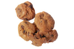 02 μπισκότα σοκολάτας τσιπ Στοκ εικόνες με δικαίωμα ελεύθερης χρήσης