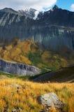 02 μπλε βουνά Στοκ εικόνες με δικαίωμα ελεύθερης χρήσης