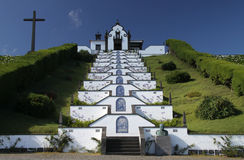 02 νησιά εκκλησιών των Αζορώ&nu Στοκ φωτογραφία με δικαίωμα ελεύθερης χρήσης