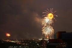 02 πυροτεχνήματα Στοκ εικόνες με δικαίωμα ελεύθερης χρήσης