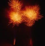 02 πυροτεχνήματα Στοκ Εικόνα