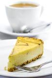 02 σειρές τυριών κέικ Στοκ Φωτογραφίες