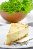 02 σειρές τυριών κέικ Στοκ Εικόνα