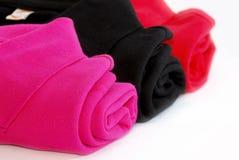 02 σειρές υφασμάτων cottons Στοκ Εικόνες